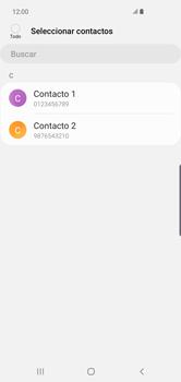 ¿Tu equipo puede copiar contactos a la SIM card? - Samsung S10+ - Passo 9