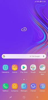 Conecta con otro dispositivo Bluetooth - Samsung A7 2018 - Passo 1