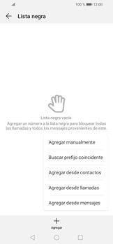Cómo bloquear llamadas - Huawei Y6 (2019) - Passo 7