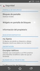 Desbloqueo del equipo por medio del patrón - Sony Xperia Z2 D6503 - Passo 5