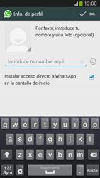 Configuración de Whatsapp - Samsung Galaxy Zoom S4 - C105 - Passo 8