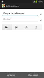 Uso de la navegación GPS - Samsung Galaxy S4  GT - I9500 - Passo 15
