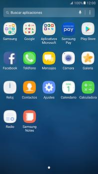 Instala las aplicaciones - Samsung Galaxy A7 2017 - A720 - Passo 3