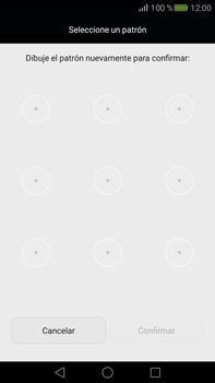 Desbloqueo del equipo por medio del patrón - Huawei Mate S - Passo 8