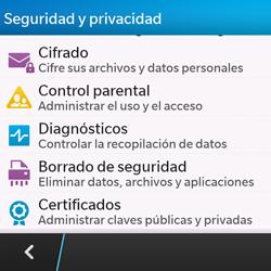 Restaura la configuración de fábrica - BlackBerry Q10 SQN100 – 1 - Passo 5
