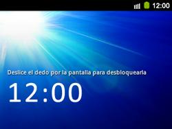 Bloqueo de la pantalla - Samsung Galaxy Y Pro GT - B5510 - Passo 4