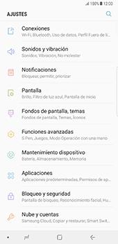 Limpieza de aplicación - Samsung Galaxy Note 8 - Passo 3