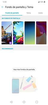 Cambiar configuraciones de pantalla - LG K40S - Passo 5