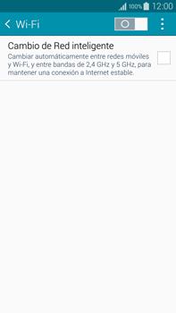 Configura el WiFi - Samsung Galaxy Note IV - N910C - Passo 5