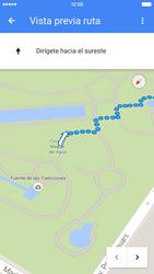 Uso de la navegación GPS - Apple iPhone 6s - Passo 20