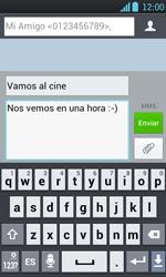 Envía fotos, videos y audio por mensaje de texto - LG Optimus L7 - Passo 12