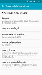 Actualiza el software del equipo - Samsung Galaxy J3 - J320 - Passo 6