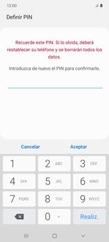 Habilitar seguridad de huella digital - Samsung Galaxy S10 Lite - Passo 10