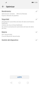 Cómo usar la función Optimizar - Huawei Nova 5T - Passo 4
