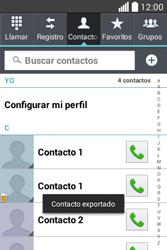 ¿Tu equipo puede copiar contactos a la SIM card? - LG L40 - Passo 10