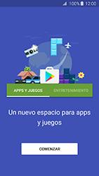 Instala las aplicaciones - Samsung Galaxy J3 - J320 - Passo 4