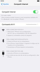 Configura el hotspot móvil - Apple iPhone 6 Plus - Passo 8