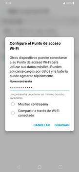 Configura el hotspot móvil - LG K50s - Passo 7