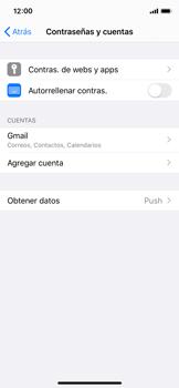 Desactivar la sincronización automática - Apple iPhone XS - Passo 4