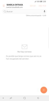 Configura tu correo electrónico - Samsung Galaxy S9 Plus - Passo 9