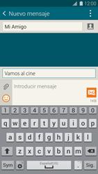 Envía fotos, videos y audio por mensaje de texto - Samsung Galaxy S5 - G900F - Passo 11