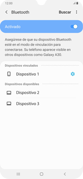 Conecta con otro dispositivo Bluetooth - Samsung Galaxy A30 - Passo 9