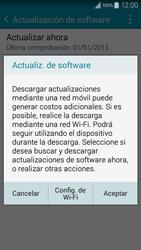 Actualiza el software del equipo - Samsung Galaxy A3 - A300M - Passo 8