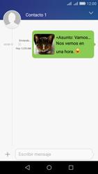 Envía fotos, videos y audio por mensaje de texto - Huawei Y6 - Passo 19