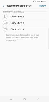 Transferir fotos vía Bluetooth - Samsung Galaxy S8+ - Passo 11
