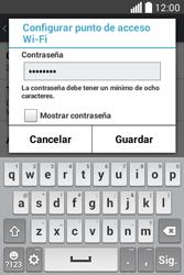 Configura el hotspot móvil - LG L40 - Passo 8