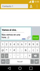 Envía fotos, videos y audio por mensaje de texto - LG C50 - Passo 11