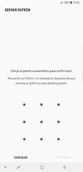 Desbloqueo del equipo por medio del patrón - Samsung Galaxy Note 8 - Passo 9