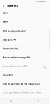 Configura el Internet - Samsung Galaxy S8+ - Passo 15