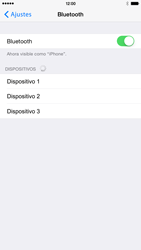 Conecta con otro dispositivo Bluetooth - Apple iPhone 6 Plus - Passo 6