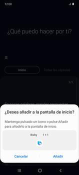 Cómo habilitar el asistente Bixby - Samsung Galaxy S10 Lite - Passo 13