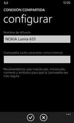 Configura el hotspot móvil - Nokia Lumia 635 - Passo 7