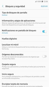 Desbloqueo del equipo por medio del patrón - Samsung Galaxy A7 2017 - A720 - Passo 5