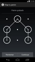 Desbloqueo del equipo por medio del patrón - Motorola Moto G - Passo 8