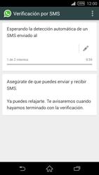 Configuración de Whatsapp - Sony Xperia Z2 D6503 - Passo 7