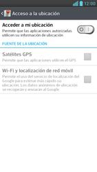 Uso de la navegación GPS - LG Optimus G Pro Lite - Passo 7