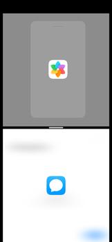 Cómo ver dos aplicaciones a la vez en pantalla - Huawei P40 - Passo 7