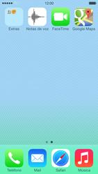 Uso de la navegación GPS - Apple iPhone 5c - Passo 3