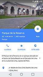 Uso de la navegación GPS - LG X Cam - Passo 12