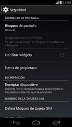 Desbloqueo del equipo por medio del patrón - Motorola Moto G - Passo 5
