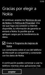 Activa el equipo - Nokia Lumia 520 - Passo 20