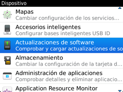 Actualiza el software del equipo - BlackBerry Bold 9720 - Passo 6