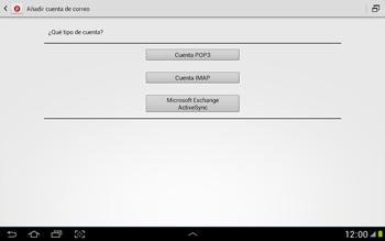 Configura tu correo electrónico - Samsung Galaxy Note 10-1 - N8000 - Passo 8