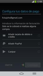 Crea una cuenta - LG G Flex - Passo 15