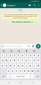 Usar WhatsApp - Samsung A7 2018 - Passo 7
