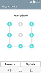 Desbloqueo del equipo por medio del patrón - LG C50 - Passo 10